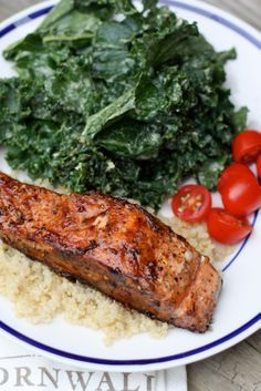 Clean Eating -- Quick and Easy Balsamic Salmon