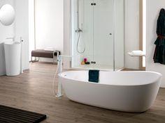 KRION® es la clave de cuatro de las series de producto que nos proponen desde Systempool para conseguir baños actuales y muy prácticos. - Porcelanosa.com