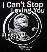 Ray Charles t-shirt from Vintage Basement - www.vintagebasement.com