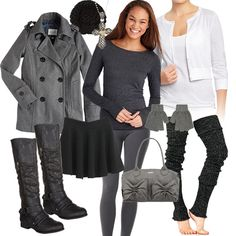 Private School Uniform Inspired Outfit