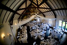 Black and White Theme - The Great Hall at Mains