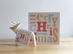 Printable Christmas Card & Gift Tags by muskaelvis