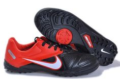 ad265e884fd Nike CTR360 Libretto II TF Mens Astro Turf Soccer Cleats(Black Red White)  Cheap