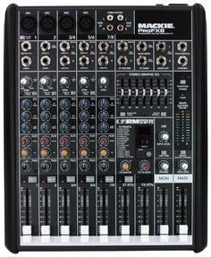 Mackie PROFX8 8-Channel Pro Audio Mixer   With FX and USB