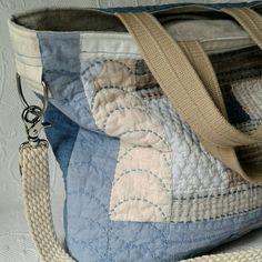 Lovely new blue bag, custom order.