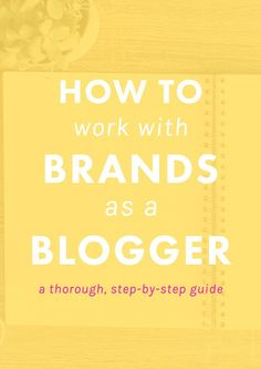 How to Work With Brands as a Blogger - The Nectar Collective - http://www.popularaz.com/how-to-work-with-brands-as-a-blogger-the-nectar-collective/