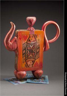 Meryl Ruth... awesome tea pot... very alice in wonderlandish...