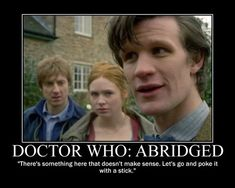 This is why I love #DoctorWho