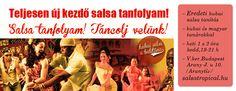 Teljesen új kezdő SALSA tanfolyam októberben az Salsa Tropical tánciskolában! Helyszín: 1051.Bp.Arany J.u.10 info: www.salsatropical.hu