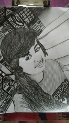Guys look what I made my friend's portrait follow me for more@Ananya M Bhatt