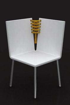 Corset Chair & Side Table by Baita Design