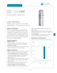 Image result for one page product information nuskin