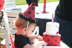 Adorable Ladybug Birthday party! #birthday #party #ladybug