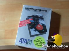 Atari XL XE Eastern Front 1941 SEALED Complete Unopened Atari 600XL 800XL PAL | eBay