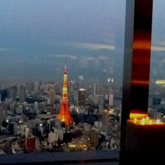 Roppongi Hills Club     The Tokyo Tower View