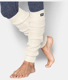 Women's UA Favorite Leg Warmers, Ivory