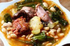 Receta de cocido montañés, el puchero cántabro de alubias y berza - Mercado Calabajío