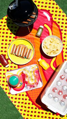 Summer means BBQ's and we got you covered. Fire up the grill and pile up the toppings. Hot dogs? Check. Chips? Of course! And a cooler full of drinks. A must-have. You'll carry the fun with you all season long.