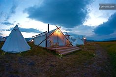 Yellowstone Under Canvas - Deluxe | Airbnb Mobile