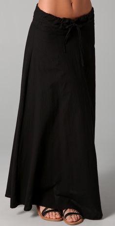 A Perfect Long Skirt