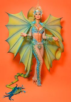 "great idea for the ""wings"" for dragon costume. i can do without the women's costume. Fantasy Costumes, Dance Costumes, Cosplay Costumes, Halloween Costumes, Teen Costumes, Burlesque Costumes, Woman Costumes, Mermaid Costumes, Pirate Costumes"