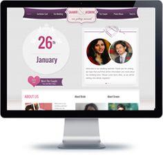 Saamir weds Jasmine website built with PHP/HTML, JQuery.