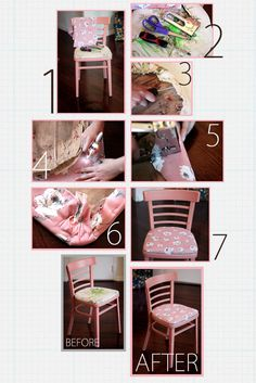 Ruche: Project DIY: How to Reupholster a Chair