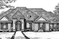 European Style House Plan - 4 Beds 2.50 Baths 2310 Sq/Ft Plan #310-248 Exterior - Front Elevation - Houseplans.com
