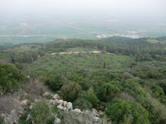 Mt Carmel, Israel where Elijah called down fire from heaven