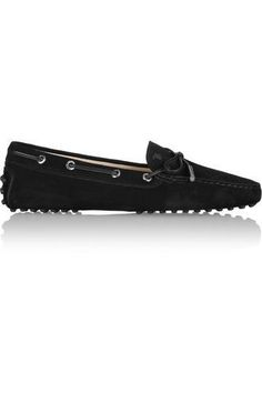 Gommino suede loafers #slipons #covetme #tod's
