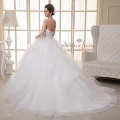 Wedding dress Nitsa by Atelier ivoire