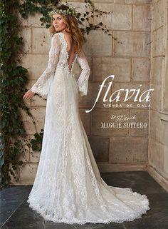 Vestido de novia dahlia