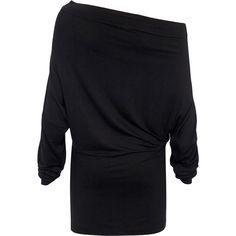 SuperTrash Dress Thousandways Black ($90) ❤ liked on Polyvore
