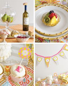 Pink & Yellow Spring Party Ideas