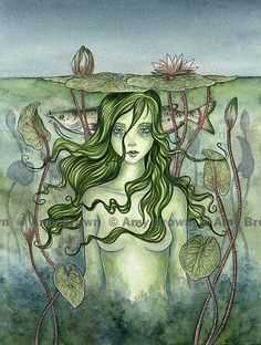 etsy-thefantasy: (via Water Fairy Mermaid PRINT by Amy Brown by AmyBrownArt) Fantasy Mermaids, Mermaids And Mermen, Magical Creatures, Fantasy Creatures, Sea Creatures, Amy Brown Fairies, Dark Fairies, Water Fairy, Beautiful Fantasy Art