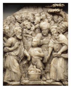 La multiplication des pains - Musée national de la Renaissance (Ecouen)