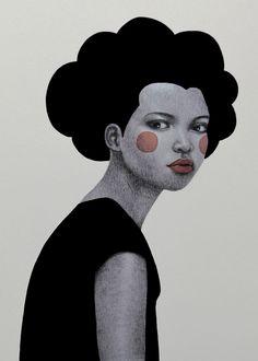 Lovely illustrations by Sofia Bonati Art And Illustration, Portrait Illustration, Illustrations, Portraits Illustrés, Sofia Bonati, Poster Prints, Art Prints, People Art, Print Artist