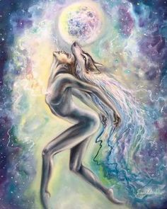 Looking for any and all creative types to share space with in Camarillo CA. My roommate recently informed me that she's moving out by July… Wolf Artwork, Goddess Art, Wolf Goddess, Spirited Art, Tier Fotos, Pencil Art Drawings, Psychedelic Art, Tree Art, Aesthetic Art