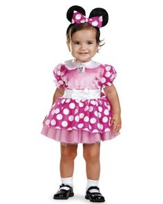 disguise limited unisex child disney clubhouse minnie mouse baby costume 12 to 18 months