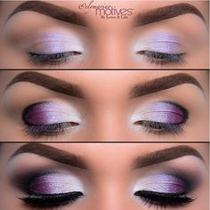 Gorgeous Purple look by ✨ @elymarino her work is amazing, check out her page for details ➡️➡️➡️ @elymarino  @elymarino  @elymarino #Padgram