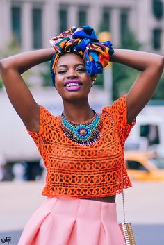 hair wrap. #Africanfashion #AfricanClothing #Africanprints #Ethnicprints #Africangirls #africanTradition #BeautifulAfricanGirls #AfricanStyle #AfricanBeads #Gele #Kente #Ankara #Nigerianfashion #Ghanaianfashion #Kenyanfashion #Burundifashion #senegalesefashion #Swahilifashion DK