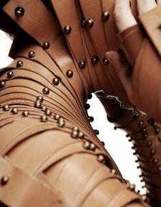 Leather body armor