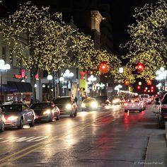 Main Street, Ann Arbor, Michigan ~ Worked at a Greek restaurant here