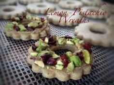 Plan to Eat - Lemon-Pistachio Wreath Cookies - MarlaJ