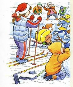 A venit iarna! | Jurnal de prichindei Infant Activities, Activities For Kids, Kids Education, Donald Duck, Bowser, Disney Characters, Fictional Characters, Winter, Boards