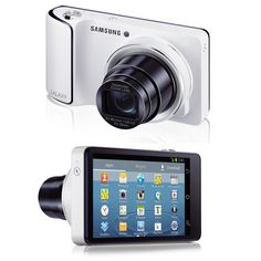 The Samsung Galaxy Camera is a camera on the front, smartphone on the back
