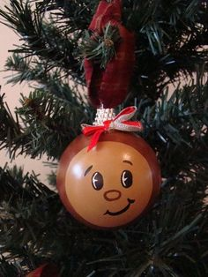 osu buckeye homemade christmas ornaments | ... www.etsy.com/listing/114465348/ohio-state-buckeye-christmas-ornament