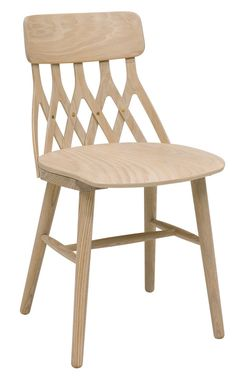 Y5: A Chair Whose Back is Made of 5 Inverted Ys - Design Milk