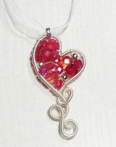 Free tutorial by photo wire jewelry pendants by tototwo2