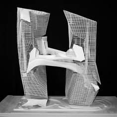From my section of the SCI-Arc UG Thesis...this physical model is the work of @hemilaaria .  #sciarc